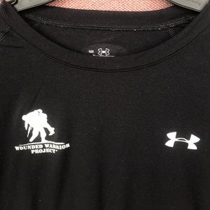 UA Under Armour Wounded Warrior black T-shirt